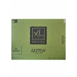 """Canson XL Sketch Pads, Fold-Over, 18"""" x 24"""", 100 Sheets"""