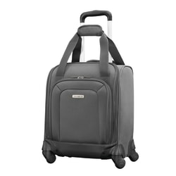 """Samsonite® Underseater Spinner Rolling Suitcase, 16""""H x 13""""W x 8""""D, Charcoal"""