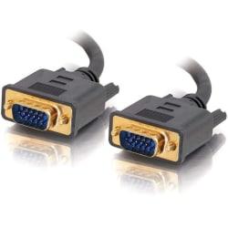 C2G 100ft Flexima HD15 UXGA M/M Monitor Cable - HD-15 Male - HD-15 Male - 100ft - Gray
