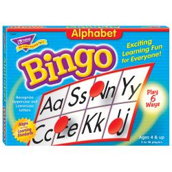 Trend® Bingo Game, Alphabet