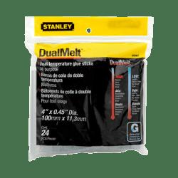 Stanley-Bostitch Dual Temperature Glue Sticks, 11.2 Oz, Clear, Pack Of 24