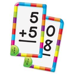 Trend Pocket Flash Cards, Addition, Box Of 56 Cards