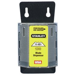 Stanley Bostitch® Wall Blade Dispenser, Pack Of 100, Silver