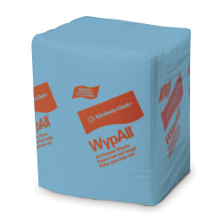 """Wypall L40 Folded Towels, 12 1/2"""" x 14 2/5"""", Pack Of 672"""