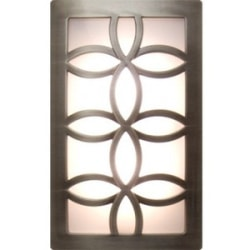 GE CoverLite LED Auto On/Off Night Light (Brushed Nickel) - LED - Brushed Nickel - Wall Mountable - for Home