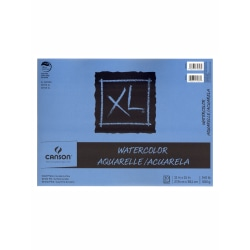 """Canson XL Watercolor Pads, 11"""" x 15"""", 30 Sheets Per Pad, Pack Of 2 Pads"""