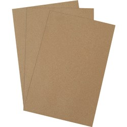 "Office Depot® Brand Chipboard Pads, 12"" x 18"", 100% Recycled, Kraft, Case Of 420"
