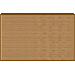 """Flagship Carpets All Over Weave Area Rug, 7' 6"""" x 12', Tan"""