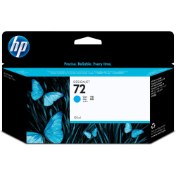 HP 72 Cyan Ink Cartridge (C9371A)