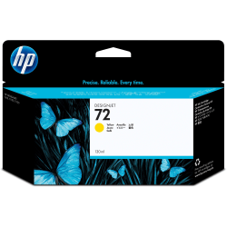HP 72 Yellow Ink Cartridge (C9373A)