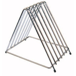Winco 6-Slot Cutting Board Rack, Chrome