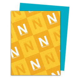 """Neenah Astrobrights® Bright Color Paper, Letter Size (8 1/2"""" x 11""""), 24 Lb, 30% Recycled, Terrestrial Teal, 500 Sheets"""