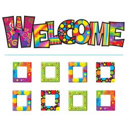 TREND Razzle-Dazzle Welcome Bulletin Board Set, Multicolor, Pre-K - Grade 12