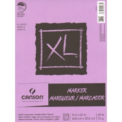 "Canson XL Series Marker Pad, 9"" x 12"", 100 Sheets"