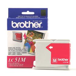 Brother® LC51M Magenta Ink Cartridge