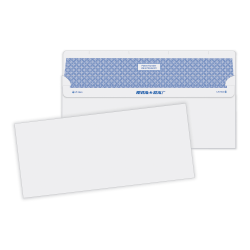 "Quality Park® Reveal-N-Seal® Business Security Envelopes, #10, 4 1/8"" x 9 1/2"", White, Box Of 500"