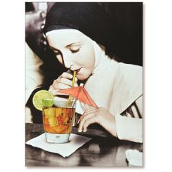 "Viabella Fun Birthday Greeting Card With Envelope, Birthday Drink, 5"" x 7"""