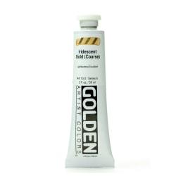 Golden Acrylic Paint, Coarse, 2 Oz, Iridescent Gold
