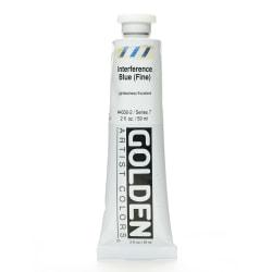 Golden Acrylic Paint, Fine, 2 Oz, Interference Blue