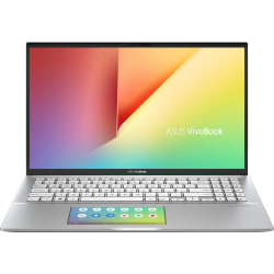 "Asus VivoBook S15 S532FL-DB77 15.6"" Notebook - 1920 x 1080 - Core i7 i7-8565U - 12 GB RAM - 512 GB SSD - Transparent Silver - Windows 10 64-bit - NVIDIA GeForce MX250 with 2 GB - Infrared Camera - Bluetooth"