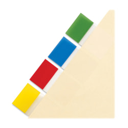 """Sparco Pop-up Removable Small Flags, 1/2"""", Assorted Colors, Pack Of 140"""