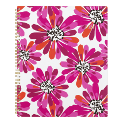 """Cambridge® Customizable Weekly/Monthly Planner, 8-1/2"""" x 11"""", Power Plant, January To December 2021, 1465-905"""
