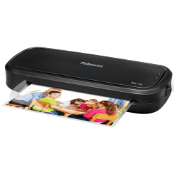 """Fellowes M5-95 Laminator with Pouch Starter Kit - 9.50"""" Lamination Width - 5 mil Lamination Thickness"""