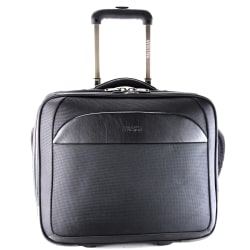 "Kenneth Cole Reaction Pro-Series Wheeled Business Case With 15.6"" Laptop Pocket, Black"