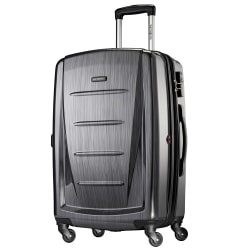 "Samsonite® Winfield 2 Polycarbonate Rolling Spinner, 28""H x 19""W x 12""D, Charcoal"