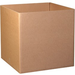 "Office Depot® Brand Triple-Wall Gaylord Bottoms, 36""H x 36""W x 36""D, Kraft, Bundle Of 5"