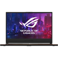 "Asus ROG Zephyrus S GX531GX-XB76 15.6"" Gaming Notebook - 1920 x 1080 - Core i7 i7-9750H - 16 GB RAM - 1 TB SSD - Metallic Black - Windows 10 Pro 64-bit - NVIDIA GeForce RTX 2080 with 8 GB - In-plane Switching (IPS) Technology - Bluetooth"