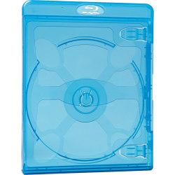 Verbatim Blu-Ray DVD Blue Cases - 30pk - Plastic