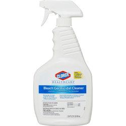 Clorox Healthcare Bleach Germicidal Cleaner - Ready-To-Use Spray - 22 fl oz (0.7 quart) - 480 / Pallet - Clear