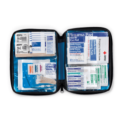 First Aid Only All Purpose Softsided First Aid Kit, Blue, 131 Pieces