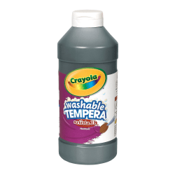 Crayola® Artista II® Tempera Paint, 16 Oz, Black