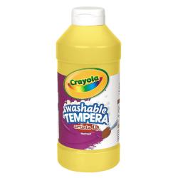 Crayola® Artista II® Tempera Paint, 16 Oz, Yellow