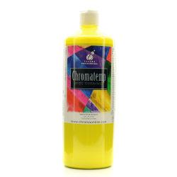 Chroma ChromaTemp Artists' Tempera Paint, 32 Oz, Yellow