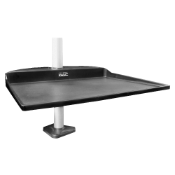 "DAC MP-205 Space Saver Shelf For Monitor Arms, 11"" x 13"" x 1.5"", Black"