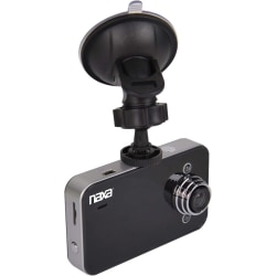 "Naxa NCV-6000 Digital Camcorder - 2.4"" LCD - HD - 16:9 - AVI - HDMI - microSD - Memory Card - Dashboard Mount"