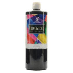 Chroma ChromaTemp Artists' Tempera Paint, 32 Oz, Black