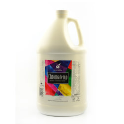 Chroma ChromaTemp Artists' Tempera Paint, 1 Gallon, White