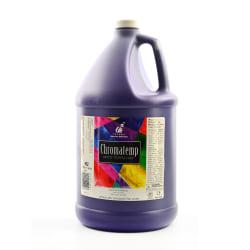 Chroma ChromaTemp Artists' Tempera Paint, 1 Gallon, Violet