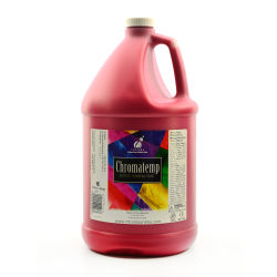 Chroma ChromaTemp Artists' Tempera Paint, 1 Gallon, Red