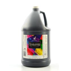 Chroma ChromaTemp Artists' Tempera Paint, 1 Gallon, Black
