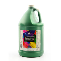 Chroma ChromaTemp Artists' Tempera Paint, 1 Gallon, Green