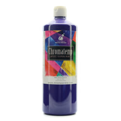 Chroma ChromaTemp Artists' Tempera Paint, 32 Oz, Violet