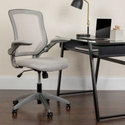 Flash Furniture Ergonomic Mesh Mid-Back Task Chair, Gray