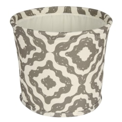 Realspace® Small Canvas Storage Bin, Medium Size, Tan