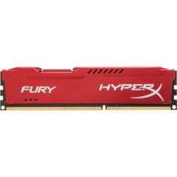 Kingston HyperX Fury 4GB DDR3 SDRAM Memory Module - For Desktop PC - 4 GB (1 x 8 GB) - DDR3-1866/PC3-14900 DDR3 SDRAM - 1866 MHz - CL10 - 1.50 V - Non-ECC - Unbuffered - 240-pin - DIMM