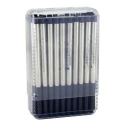 Monteverde® Ballpoint Refills For Sheaffer Ballpoint Pens, Medium Point, 0.7 mm, Black, Pack Of 50 Refills